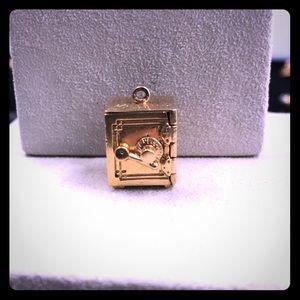 Jewelry - 14k Yellow Gold Safe Pendant/Charm